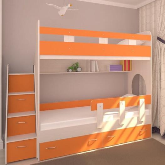<small>Двухъярусная кровать</small>